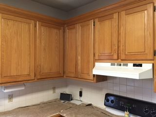 Kitchen Cabinets Before