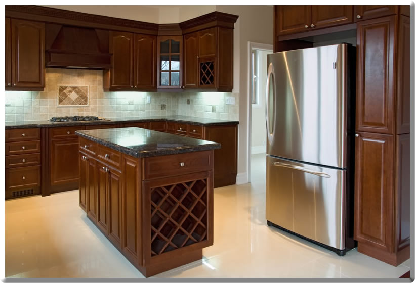 kitchen cabinet refinishing | non-toxic refinishing | point