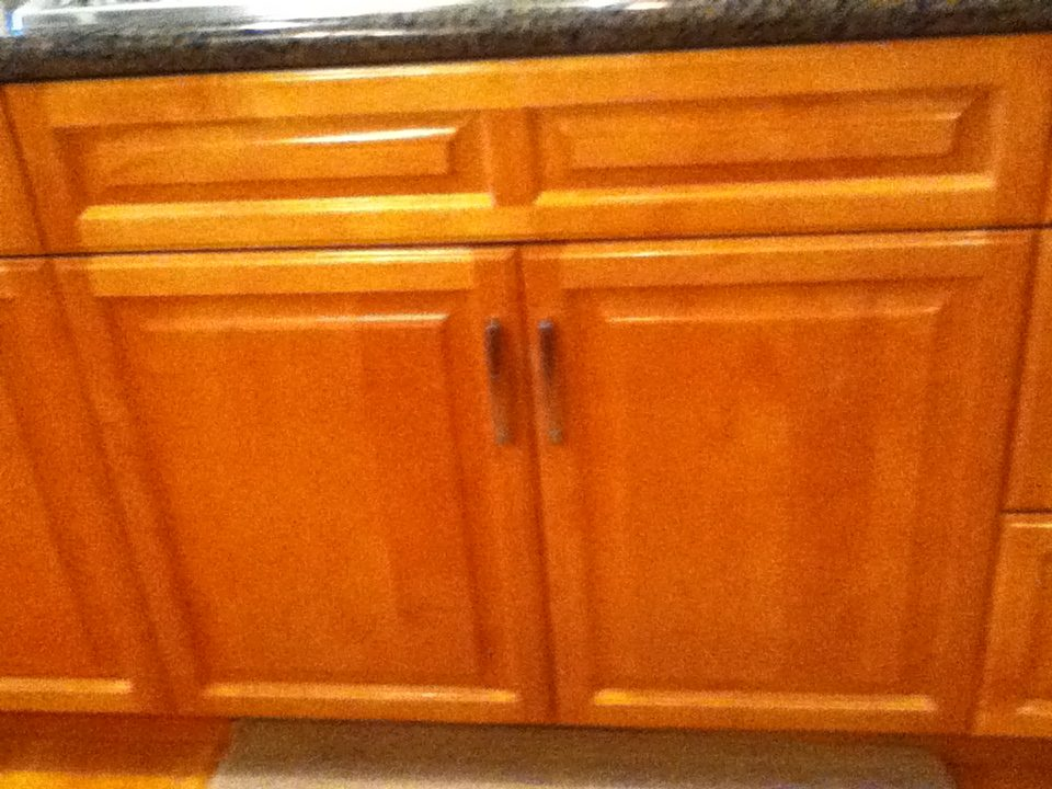 cabinet restoration, after - Semiahmoo